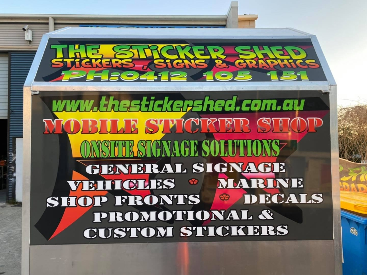 The Sticker Shed